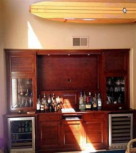 get a custom home bar and built in wine storage cabinet With home bar furniture san diego