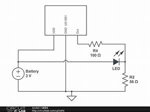 Hall Effect Switch And Led Brightness