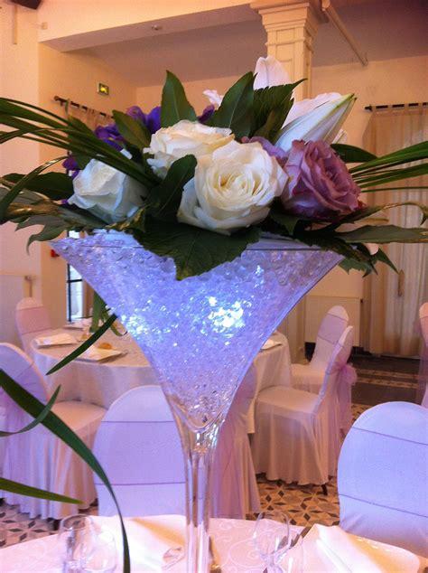 decoration de centre de table pour mariage le mariage