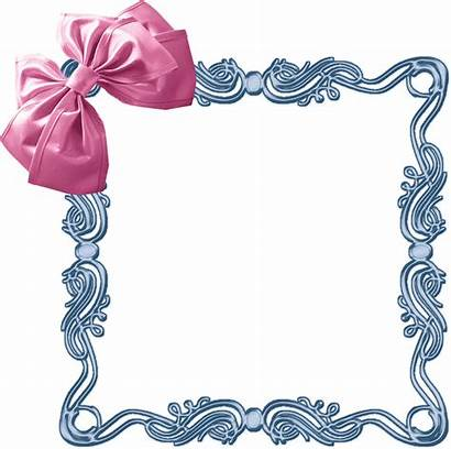 Shabby Chic Clipart Frame Border Clip Bow