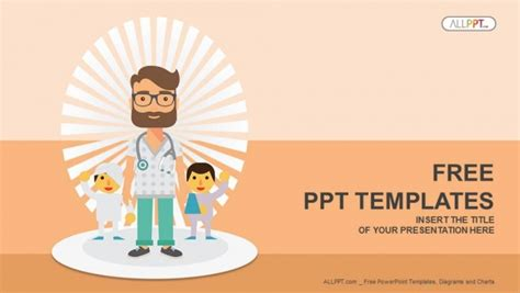 doctor  patients powerpoint templates