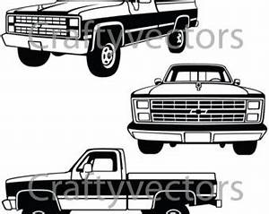 chevrolet clipart silhouette pencil and in color With 87 chevy s10 lifted