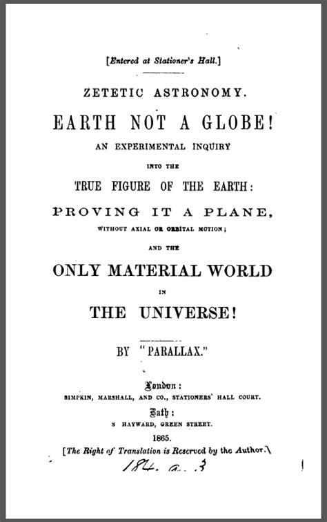 Flat Earth Resources Downloads – Flat Earth Disclosure