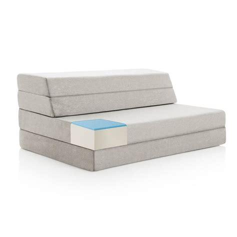 Memory Foam Folding Chair Bed by Lucid 4 Inch Gel Memory Foam Folding Mattress Sofa Free