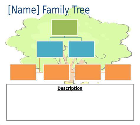 powerpoint family tree templates    xls