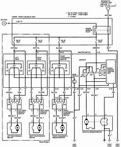 90 Accord Driver Side Window Wiring Diagram