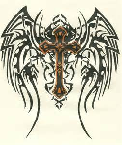 Cool Crosses with Angel Wings
