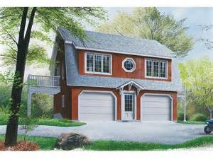 Simple Apartment Garage House Plans Placement by Garage Apartment Plans 2 Car Carriage House Plan With