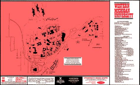 campus maps facilities management western michigan