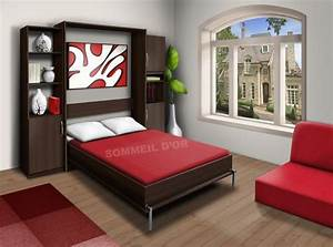 Lit Double Escamotable Ikea : promo lit escamotable lit escamotable ~ Melissatoandfro.com Idées de Décoration