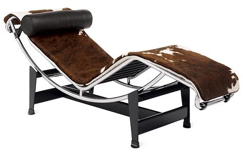 le corbusier chaise lc4 chaise longue design within reach