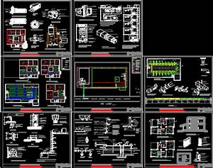 Services DWG Detail for AutoCAD • Designs CAD