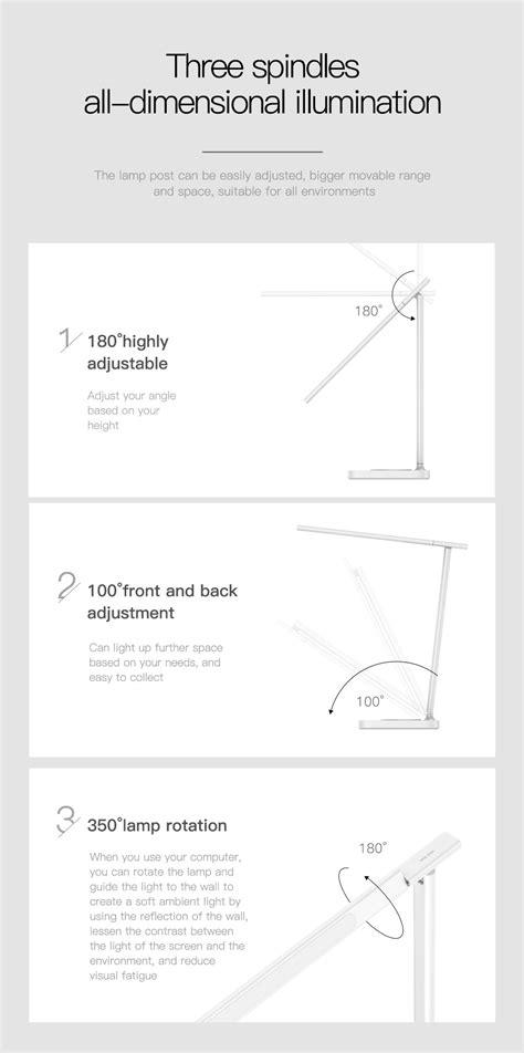 Baseus 10W LED Folding Desk Lamp Qi Fast Charging Pad