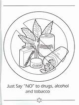 Coloring Drug Pages Drugs Say Printable Ribbon Week Easy Worksheets Print Clip Designlooter Adults Template Simple Related 900px 66kb Popular sketch template