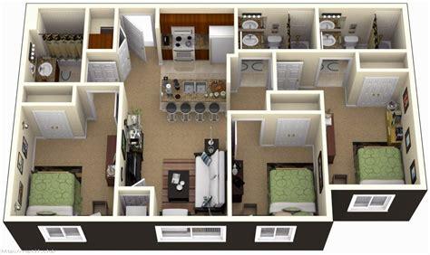 modern kitchen island design 3 bedrooms house plans designs