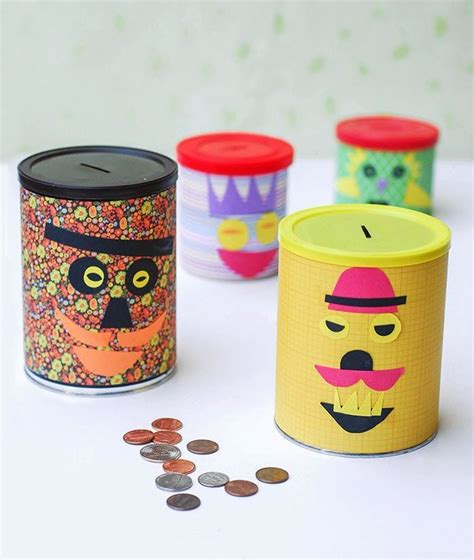 diy piggy banks  kids   cool diy projects diy