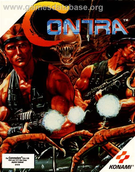 Contra Commodore 64 Games Database