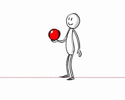 Throwing Ball Animate Character Throw Animation Stone