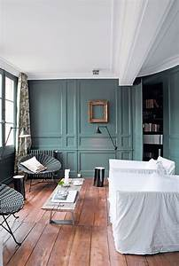 Deco Pour Salon : d co salon peinture pour refaire sa d co en couleur c t maison ~ Teatrodelosmanantiales.com Idées de Décoration
