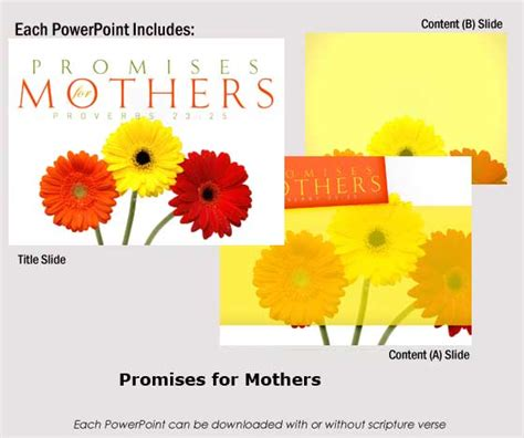 mothers day powerpoints childrenssermonscom dynamic
