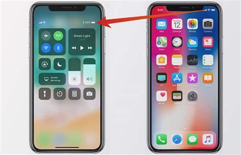 iphone battery percent check iphone x battery percentage in home screen