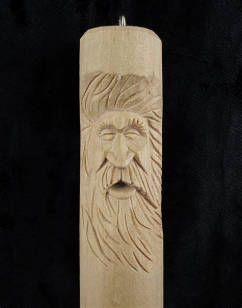 wood spirit patterns flying chips wood carving