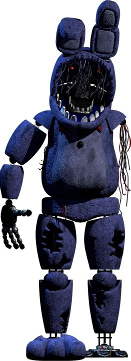 Withered Bonnie New Textures Full Body By Yinyanggio1987