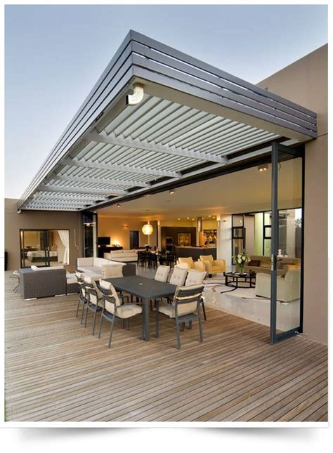 innovative retractable awning ideas pictures design   summer patio design outdoor