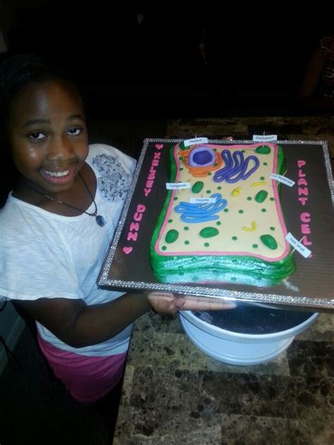 plant cell cake niece project cakes  rosemarys