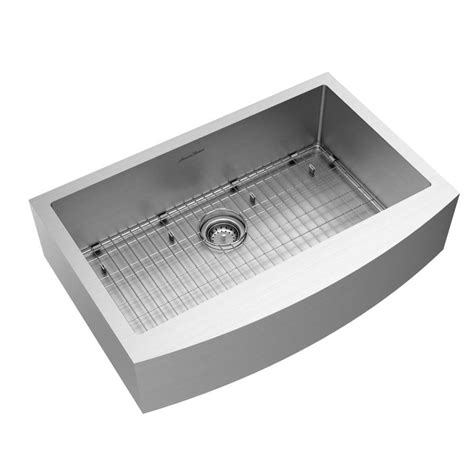 american standard farmhouse sink shop american standard suffolk 33 in x 22 in stainless