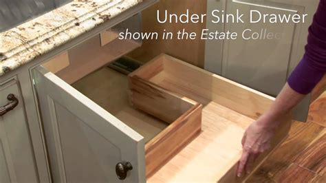 Storage Solutions   Under Sink Drawer   YouTube