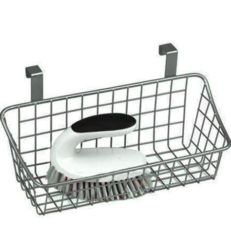Over The Cabinet Wire Basket   Nickel in Cabinet Door