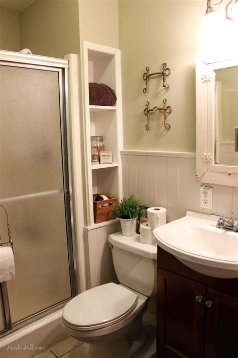 bathroom remodel installing shiplap  paneling