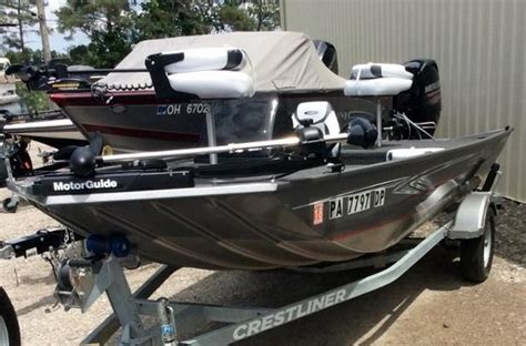 Crestliner Boats In Ohio by Crestliner Boats For Sale In Ohio