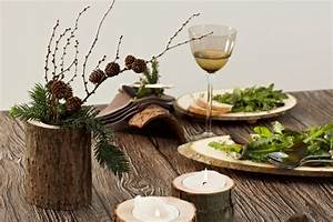 Herbst Tischdeko Natur : tischdeko aus holz selber machen ~ Bigdaddyawards.com Haus und Dekorationen