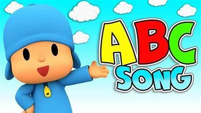 Abc Song Clipart Alphabet Jungle Pocoyo Songs