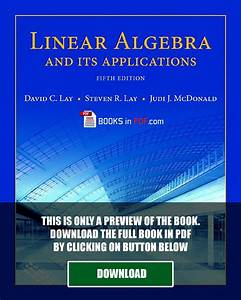 Linear Algebra And Its Applications 4th Edition Study