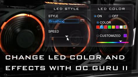 gaming in color customize led colors and effects gigabyte xtreme gaming