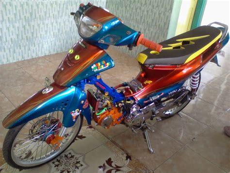 Modifikasi Motor Smash 2007 by Modifikasi Smash Racing Look Thecitycyclist