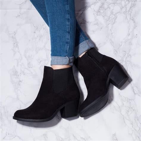 Ivy Black Ankle Boots Shoes From Spylovebuy