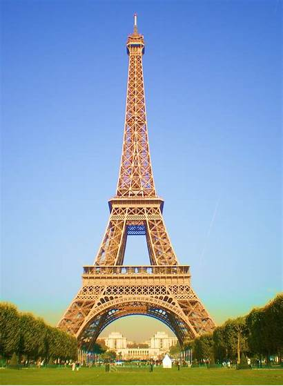 Tower Eiffel Paris France Eifel Around Places