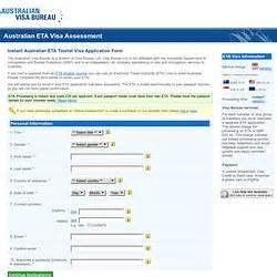 australian visa bureau australian eta visa assessment australian visa bureau