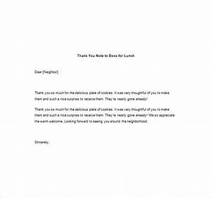Thank You Note For A Gift From Boss 10 Thank You Notes To Boss Pdf Doc Free Premium