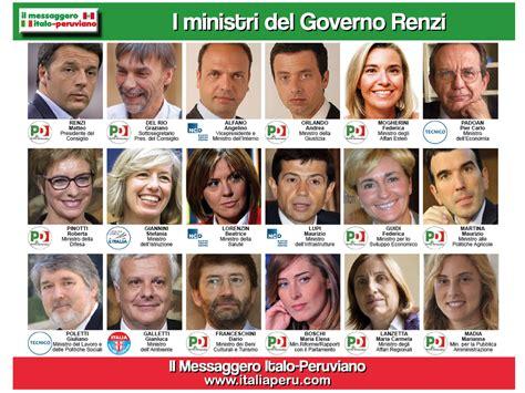 Consiglio Dei Ministri Renzi by Ecco La Lista Dei Ministri Governo Renzi