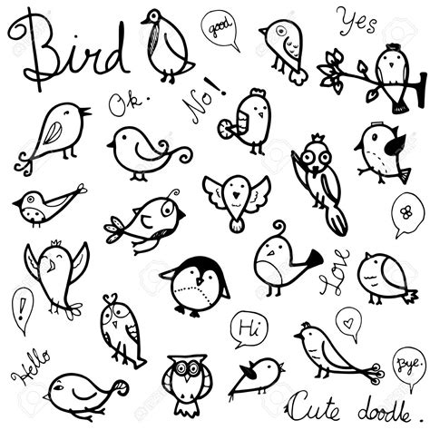 Bird Drawing Outline at GetDrawings.com | Free for ...