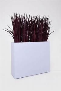 Pflanzkübel Auf Rollen : pflanzk bel raumteiler auf rollen aus fiberglas elemento wei matt ~ Orissabook.com Haus und Dekorationen