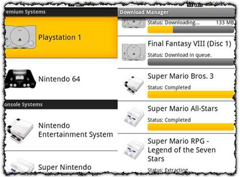console template psx rom finder psx n64 application for android