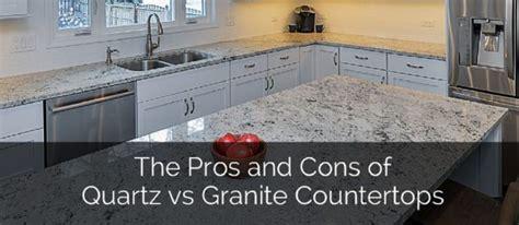 quartz countertops vs granite granite vs quartz for kitchen countertops
