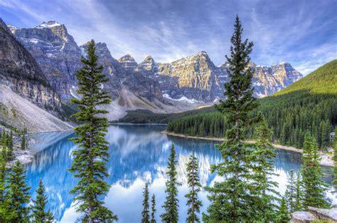 Masaüstü : Moraine Gölü, Alberta, Kanada, HDR 4919x3258 ...