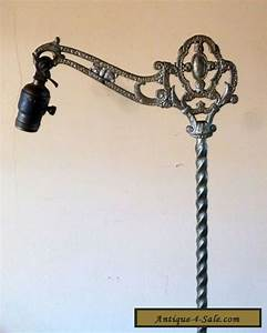 antq art deco cast iron bridge floor lamp for sale in canada With art deco floor lamp canada
